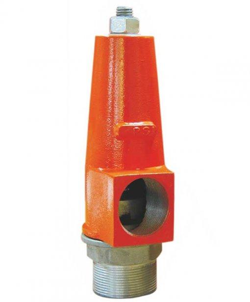male threaded pressure relief valve