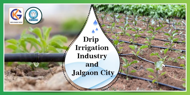 Drip Irrigation Industry and Jalgaon City in Maharashtra